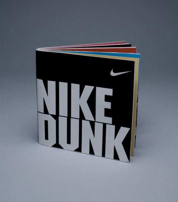 Nike catalogue design dunks 618 700 brochure for Nike brochure design