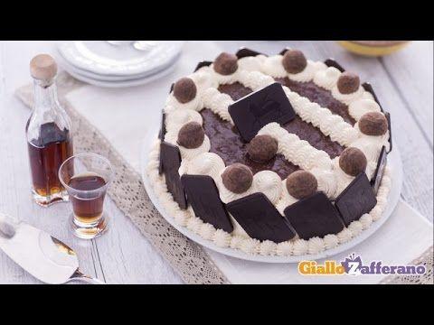 Ricetta Torta al cacao con crema di zabaione - Le Ricette di GialloZafferano.it