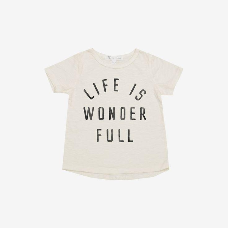 Life is Wonder Full Tee