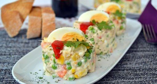 Spain: Tapas - Spanish Potato Salad