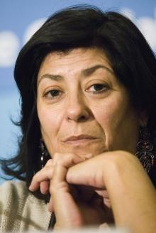 Almudena Grandes, importante escritora española. http://letrasdeencuentro.es/escritores.php?autor=175=Almudena%20Grandes