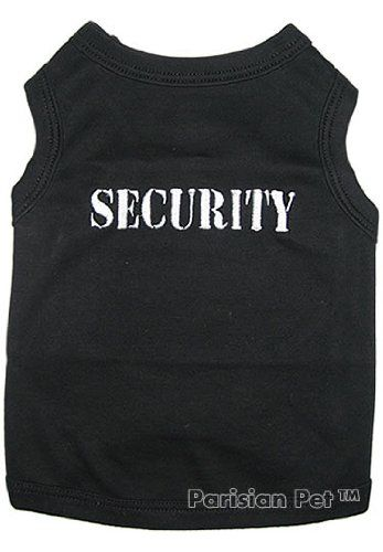 Pet Clothes SECURITY Dog T-Shirt - Small $7.95. For tucker.