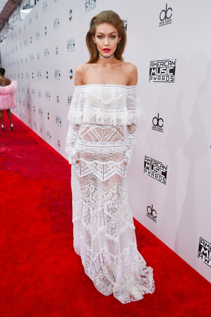 Don't Let Gigi Hadid's White AMAs Dress Distract You — She's Just Getting Started