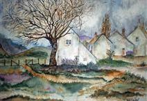 Cottages in the Valley ~ fythynnod yn y dyffryn