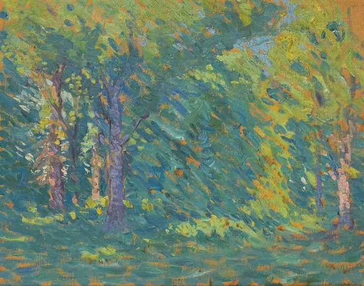 Lionel LeMoine FitzGerald (1890-1956) - Summer Forest