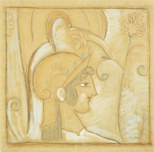 Head of Athena - Konstantinos Parthenis