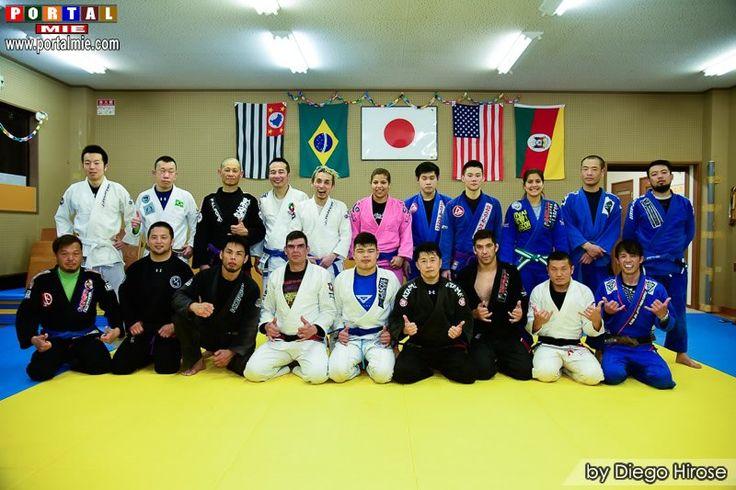 Fotos do Brazilian Jiu Jitsu Seminar na cidade de Kusatsu (Shiga) confira!