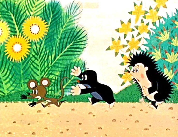 (2014-11) Muldvarpen, musen og pindsvinet løber