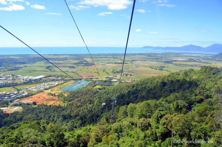 Soaring on the #Skyrail Rainforest Cableway - http://www.theworldisabook.com #travel #australia #familytravel