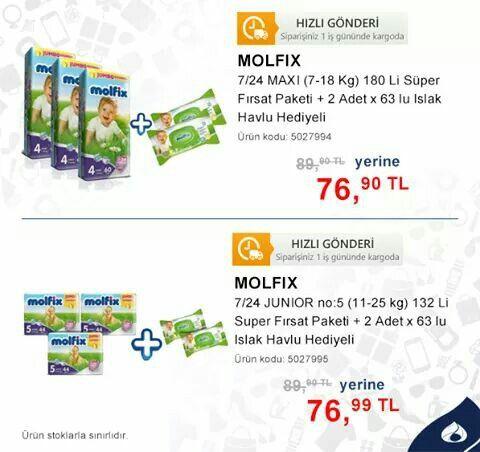 Molfix fırsat paketi www.mallbudur.com
