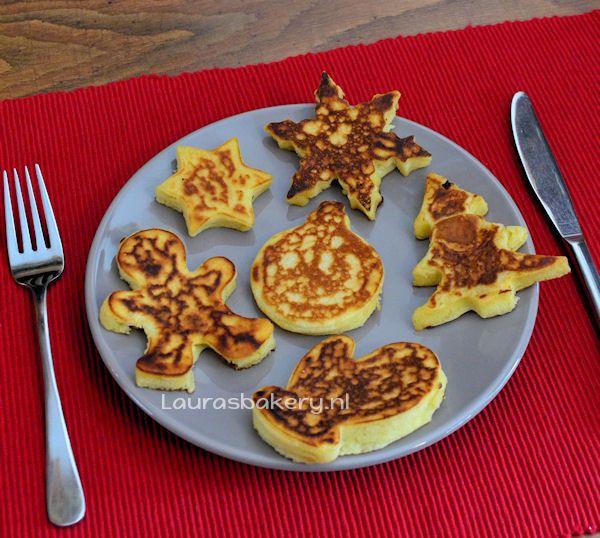Kerst Pancakes - Laura's Bakery