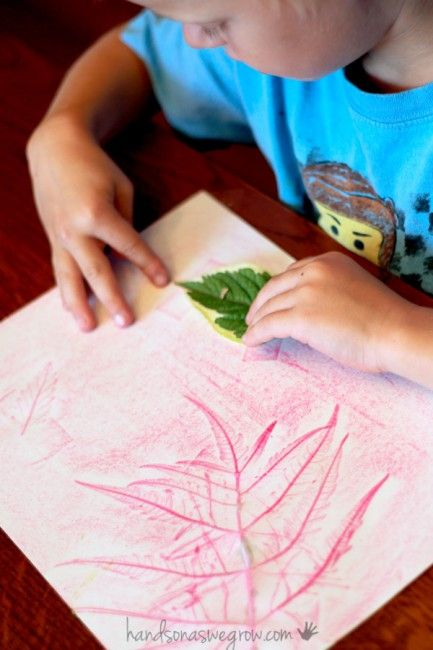 leaf rubbings nature match up hands on as we grow crafts activities and fun. Black Bedroom Furniture Sets. Home Design Ideas