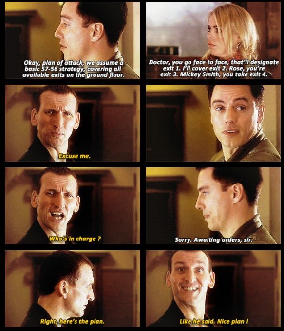"This is, this is why I love Nine. Because he was ""the man"" not because he considered himself better than others, but because he didn't. Because this scene wasn't him playing alpha male, it was him lightening up the situation and then congratulating Jack on a good plan. Something that Jack needed, to be taken seriously, but not as a soldier. Because they were friends."