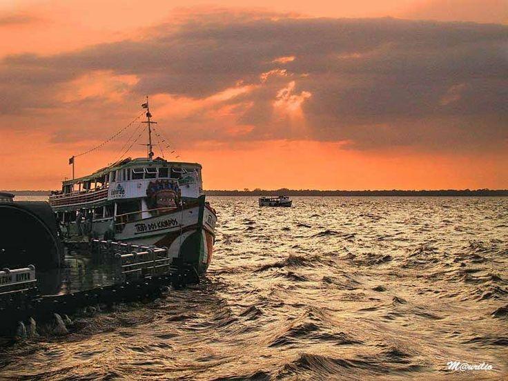 Baía de Guajará, Belém do Pará, Brasil
