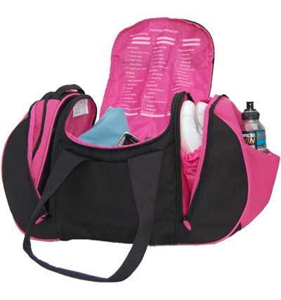 Womens Gym Bag - includes a good sized wash bag, shoe bag, and a laundry bag