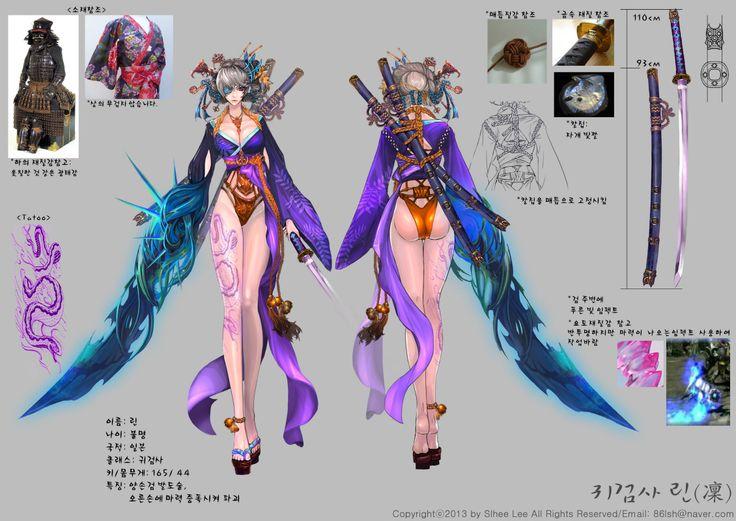 GGSCHOOL, Artist 이슬희, Student Portfolio for game, 2D Character Sheet, www.ggschool.co.kr