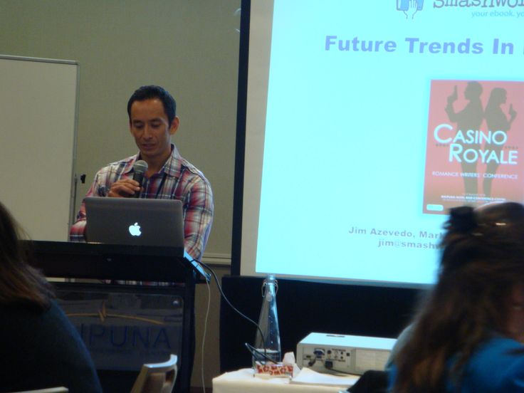 #RWNZ2014 Guest speaker Jim Azevedo of Smashwords: 10 trends that are transforming the publishing industry