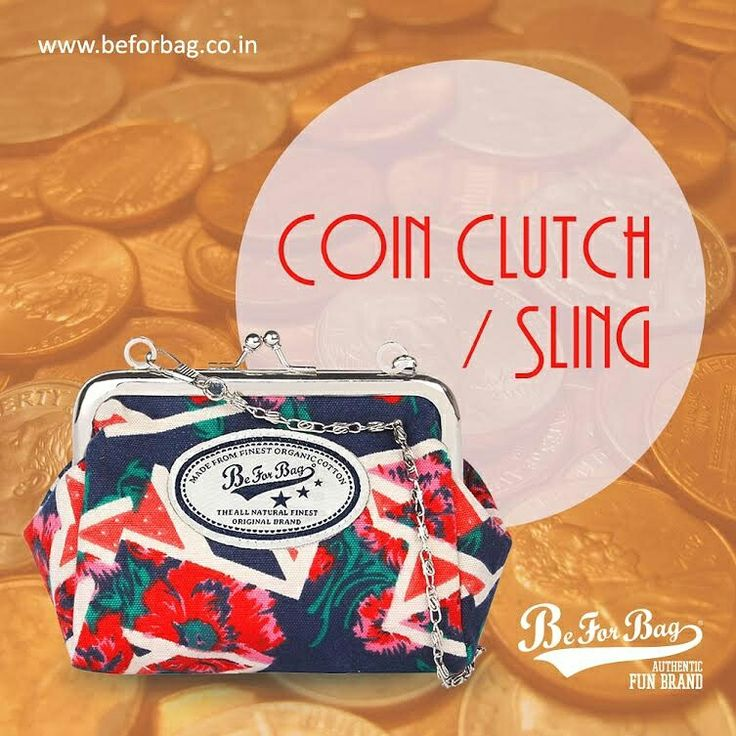 Do not flood your bags with coins, use this mini coin clutch instead. #coinclutch #bags #minibag #pouchbag