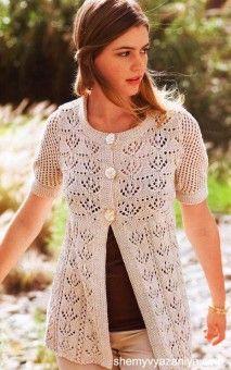Жакеты » Схемы вязания