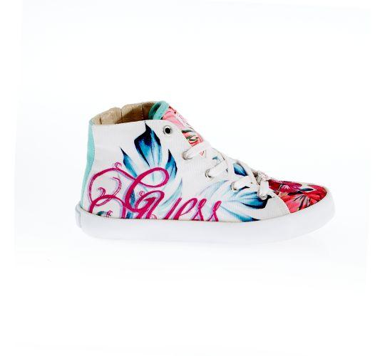 Παιδικά παπούτσια GUESS KIDS λευκά