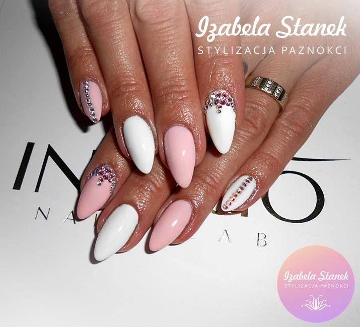 by Izabela Stanek - Follow us on Pinterest. Find more inspiration at www.indigo-nails.com #nailart #nails #indigo #pastel #pink #white