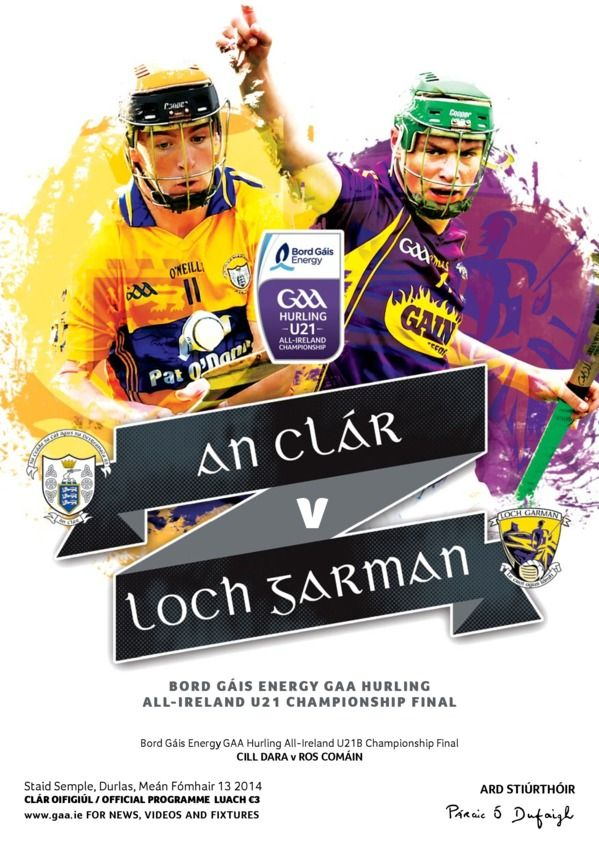 GAA Match Programmes Bord Gáis Energy GAA Hurling U21 Championship Final - Clare v Wexford edition - Read the digital edition by Magzter on your iPad, iPhone, Android, Tablet Devices, Windows 8, PC, Mac and the Web.