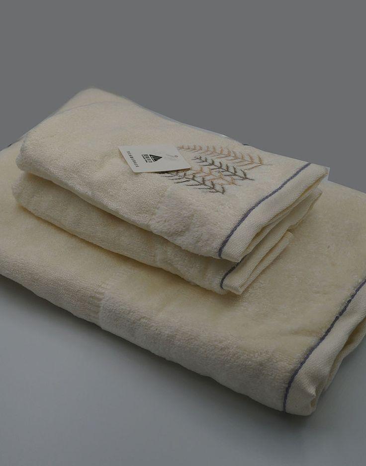 Quality 100% Bamboo Fiber Bath Room Towels Set Bath Towel & 2 Face Towel SOFT #HOYO
