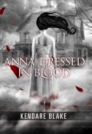 Anna Dressed in Blood by Kendare Blake  Goodreads Review: https://www.goodreads.com/review/show/1713149902?book_show_action=false