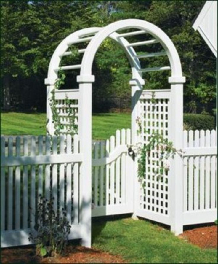 Fence Gate Arbor: 30 Best Walpole Outdoors Arbors Images On Pinterest