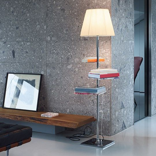 bibliotheque nationale: Discover the Flos standard lamp model bibliotheque nationale