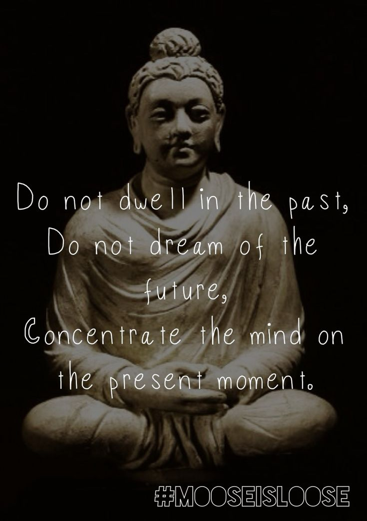 10 Awesome Buddha quotes that will inspire and motivate you:  Do not dwell in the past, do not dream of the future, concentrate the mind on the present moment. ~ Buddha #Quote