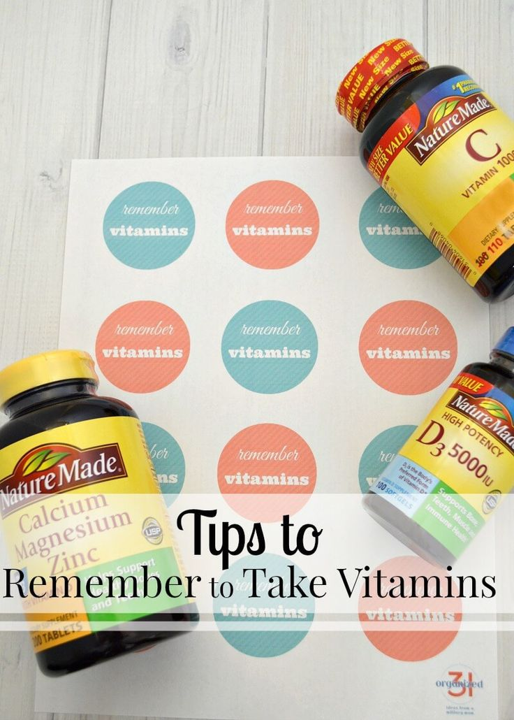 Tips to remember to take vitamins for healthier habits and lifestyle. #NatureMadeatWalmart #IC [ad]