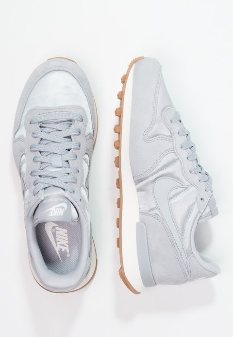 the best attitude 85fa3 f2ad7 Chaussures Nike Sportswear INTERNATIONALIST - Baskets basses - wolf grey  sail gris loupe gris