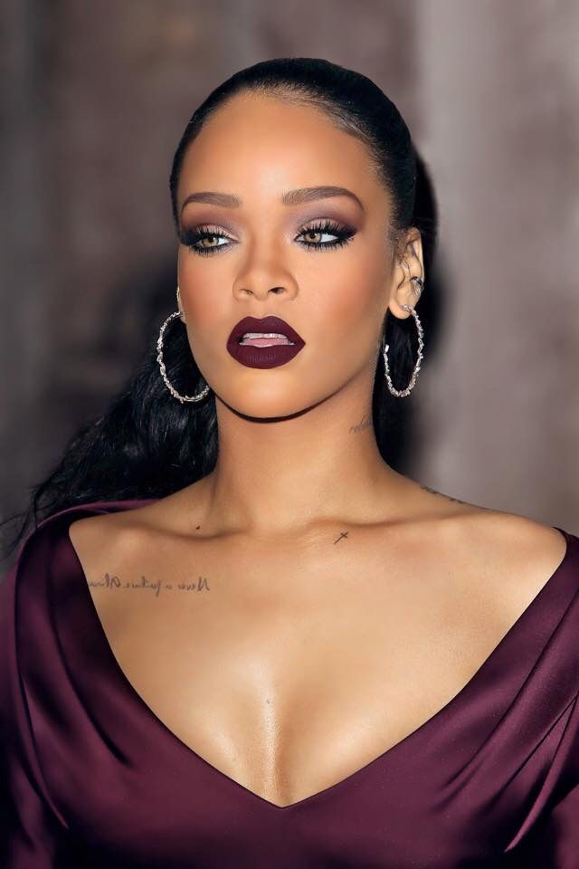 Best 25+ Rihanna makeup ideas on Pinterest | Oxblood lipstick ...