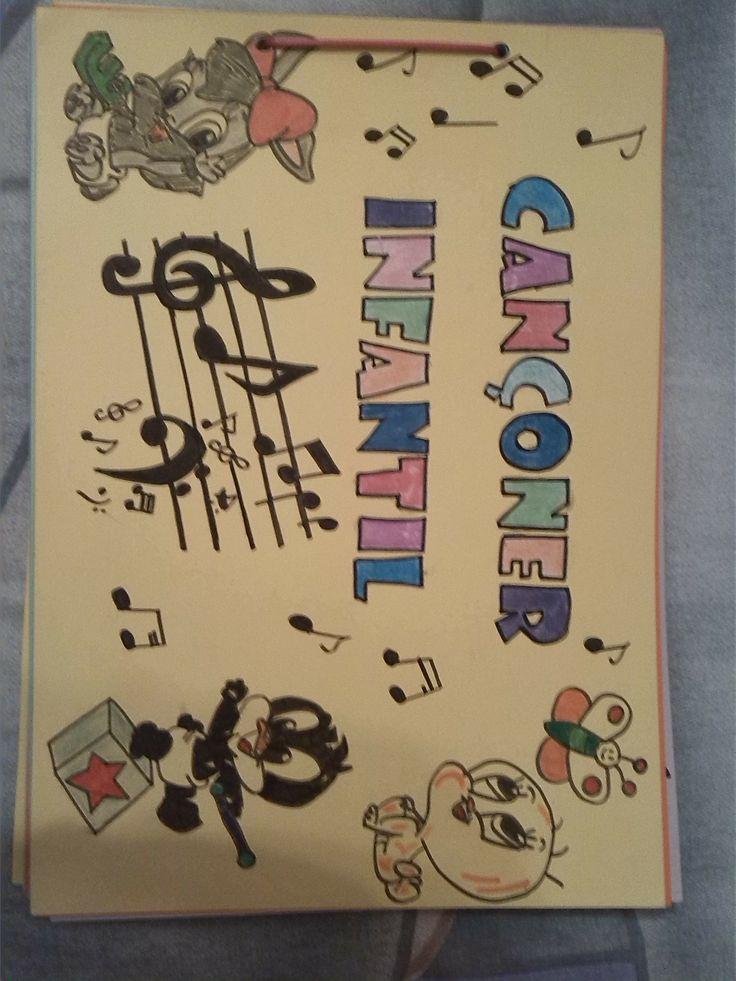 Cançoner infantil (cançons amb lletra + partitura + dibuix)