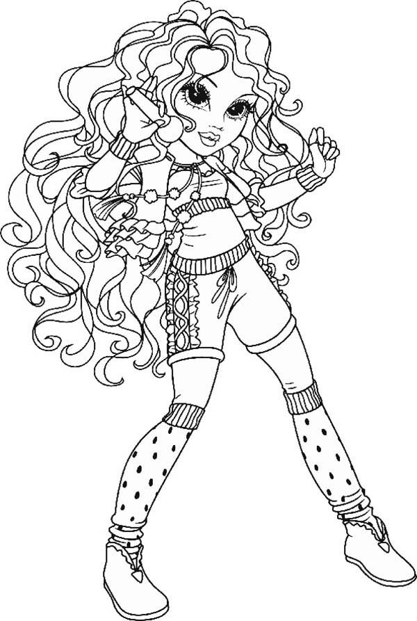 moxie dolls coloring pages-#23