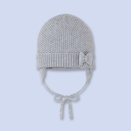 Bonnet en tricot pour bébé, fille