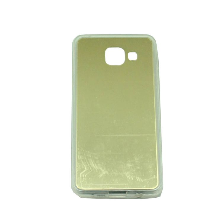 ΘΗΚΗ SAMSUNG GALAXY A3 2016 A310 TPU MIRROR BACK CASE ΧΡΥΣΟ
