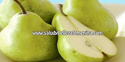 Combate la anemia y los males  intestinales con peras