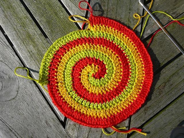 Crochet spiral tutorial