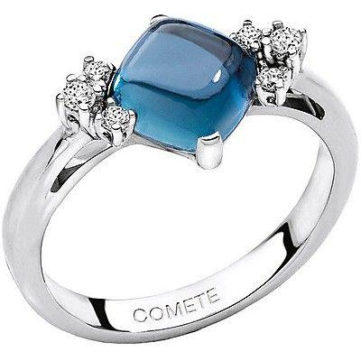 comete gioielli anello con topazio e diamanti ANB1400 Aurora http://www.gioiellivarlotta.it/product.php?id_product=367
