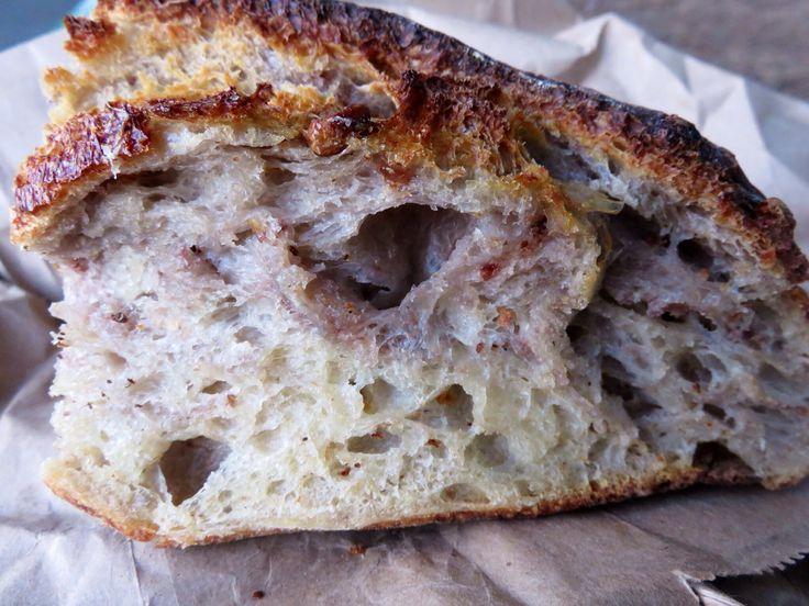 Best bread ever!! Walnut loaf, Tartine Bakery, San Francisco