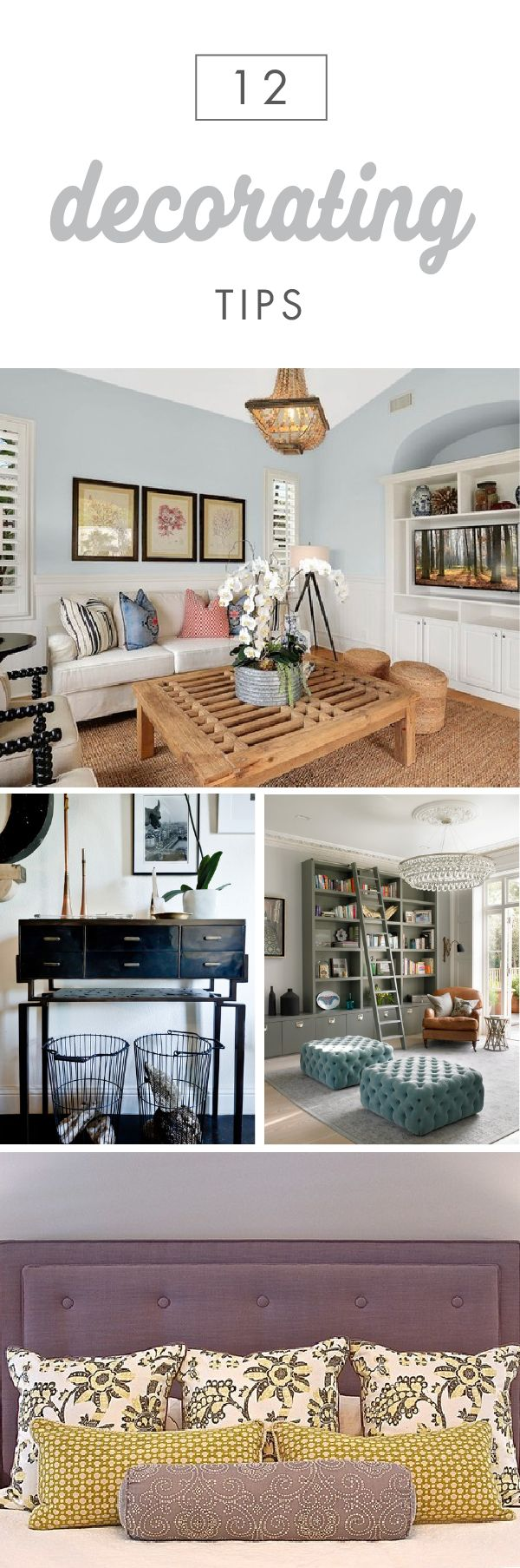 Sometimes You Just Need A Home Decor Refresh. This Collection Of 12  Decorating Tips From