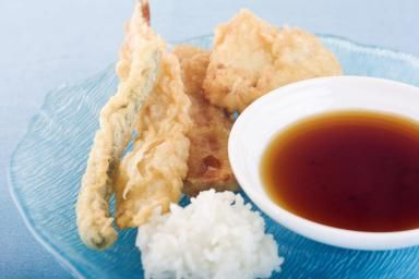 Tempura with dipping sauce - James and James/Photodisc/Getty Images