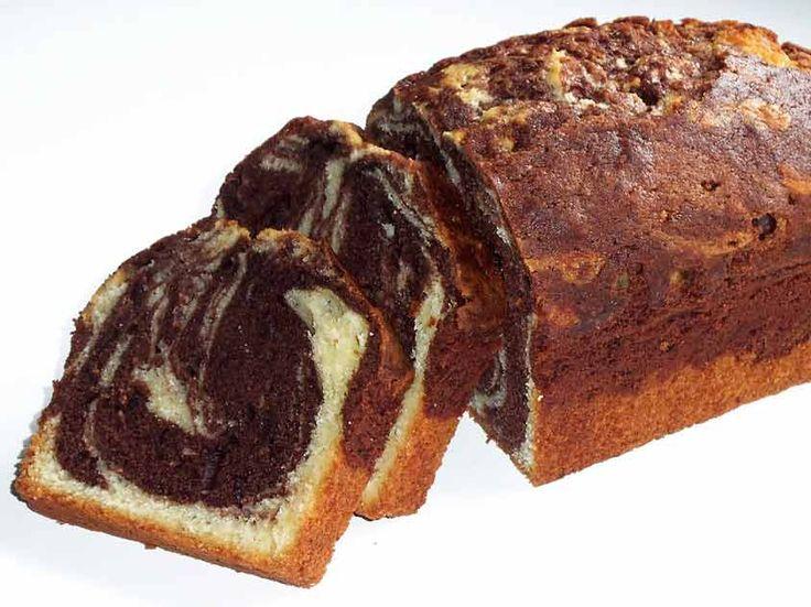 Saftiger Marmorkuchen: Marmorkuchen ist einer der beliebtesten Rührkuchen