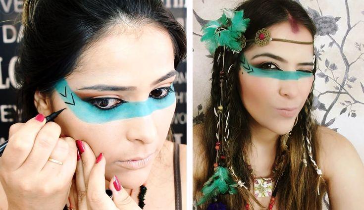 EU DE ÍNDIA, AMEI! Fantasia para o Carnaval