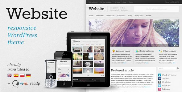 Website - Responsive Smart Personal Blog WordPress Theme