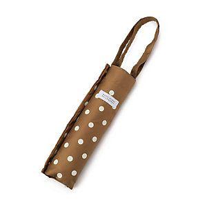 MACKINTOSH PHILOSOPHY WOMENS マッキントッシュ フィロソフィー ウイメンズ 傘 【晴雨兼用】裏ドット軽量傘 裏ドットプリントがキュートな印象の晴雨兼用の軽量傘。トート型の袋にリニューアルし、濡れた傘をサッと袋にしまうことができとても便利です。ギフトにもおすすめです。