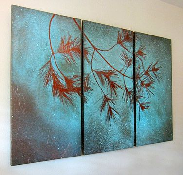 Art of nature on copper from Copperhand Studio
