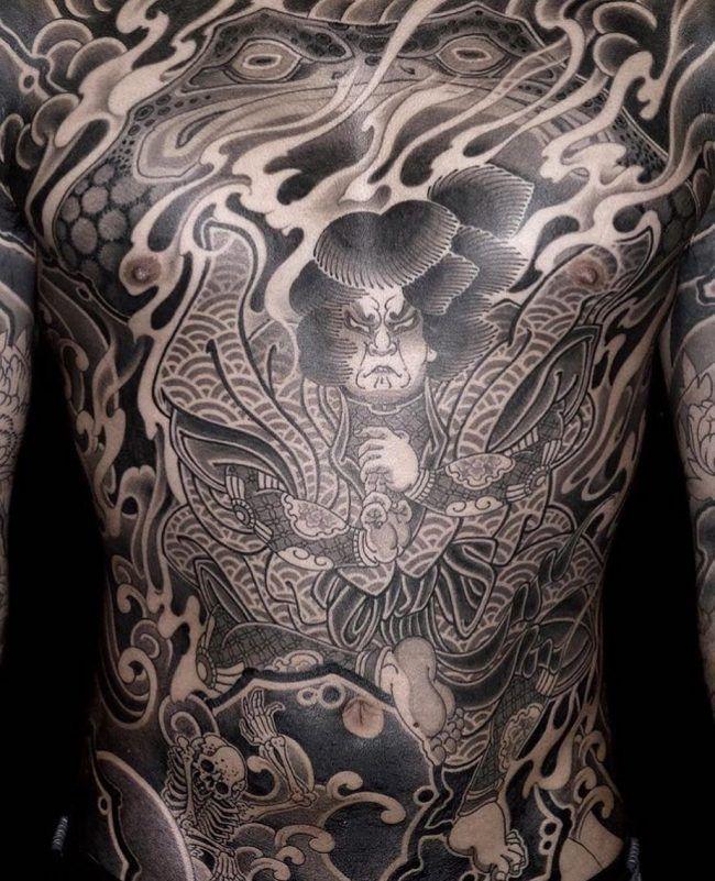 считает, фото татуировок якудза согласно
